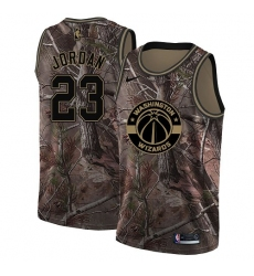 Men's Nike Washington Wizards #23 Michael Jordan Camo NBA Swingman Realtree Collection Jersey