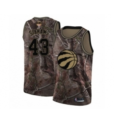 Men's Toronto Raptors #43 Pascal Siakam Swingman Camo Realtree Collection 2019 Basketball Finals Bound Jersey