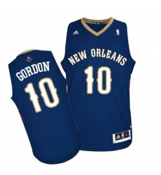 Revolution 30 Pelicans #10 Eric Gordon Navy Stitched NBA Jersey