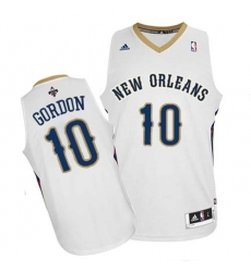 Revolution 30 Pelicans #10 Eric Gordon White Stitched NBA Jersey
