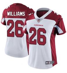 Women's Nike Arizona Cardinals #26 Brandon Williams Elite White NFL Jersey