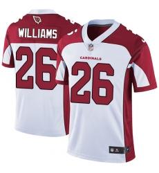 Youth Nike Arizona Cardinals #26 Brandon Williams Elite White NFL Jersey