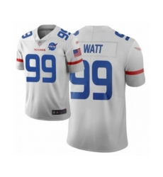 Men's Houston Texans #99 J.J. Watt Limited White City Edition Football Jersey