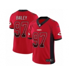 Men's Nike Kansas City Chiefs #97 Allen Bailey Limited Red Rush Drift Fashion NFL Jersey